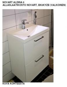 kylpyhuoneen allaskaappi